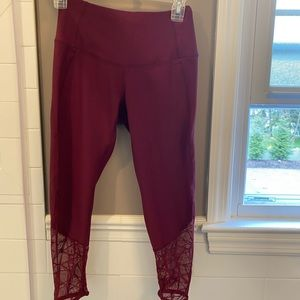 90 degrees by reflex leggings with lace detail